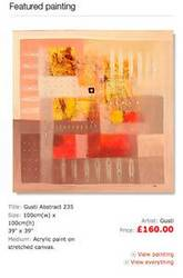 December Promo - Gusti Abstract Painting