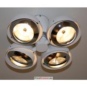 Deltalight - Xilo S 411 T50 W-C - Ceiling Lamp – 4x50W