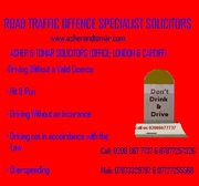 Road Traffic Offence-Drink and Drive,  Hit and Run: 02088677737