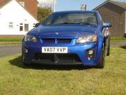 Vauxhall Vxr8 6.0 2007 VAUXHALL VXR8 BLUE