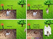 Reduce Everyday Life Stress through Funny Comic Strips