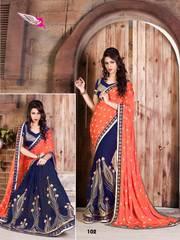 Buy online wholesale designer fancy sarees.