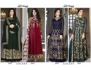 Bridal look Heavy Embroidery Faux Georgette salwar kameez