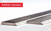 KIMAC Planer Blades 260mm to suit KIMAC machine - 1 Pair