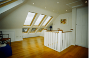 Rooflight loft conversions in Worcester | TM Lofts