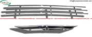 Saab 92 - 92B Front Grille (1949-1956) stainless steel