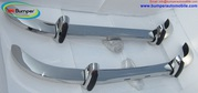 Saab 96 bumper (1965 – 1970) by stainless steel