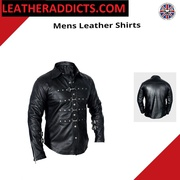 buy leather addicts shirts